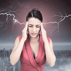 How are migraines triggered by weather?